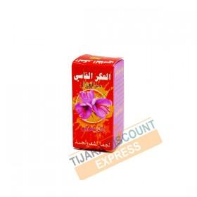 Akar fassi with saffron