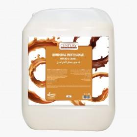 Shampoing professionnel parfumé au caramel (5L)