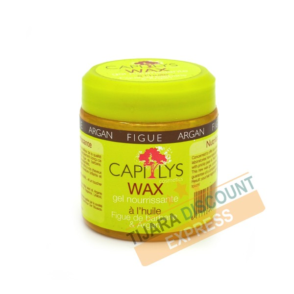 Capilys gel wax nurishing with prickly pear oil and argan oil