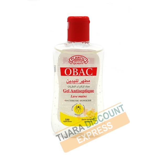 Gel antiseptique lave mains au huille essentielle de citron