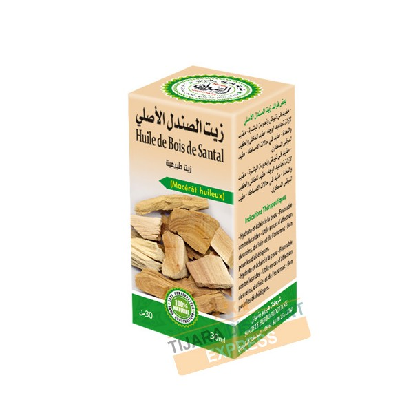 Huile de bois de santal (30 ml)
