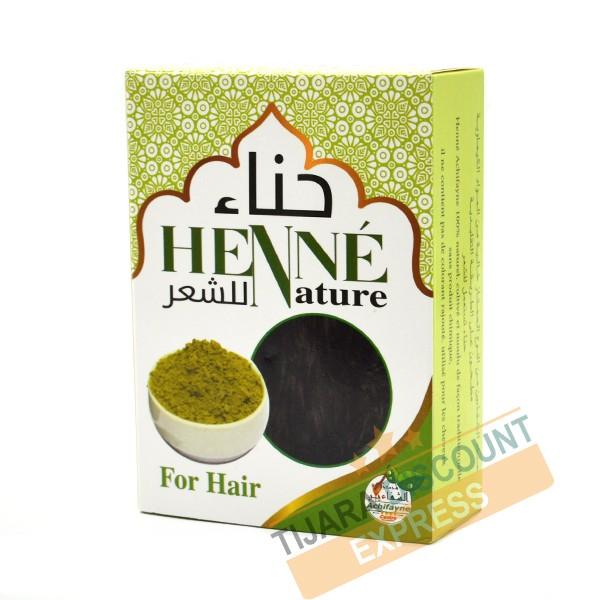Natural henna for hair