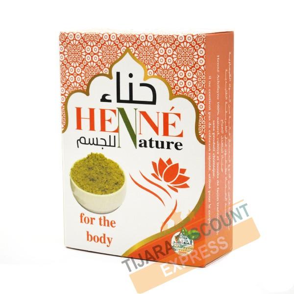 Henné naturel pour le corps
