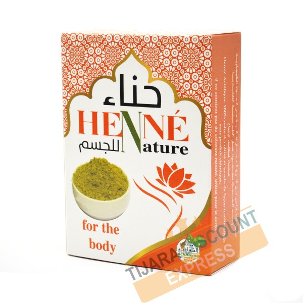 Natural henna for body