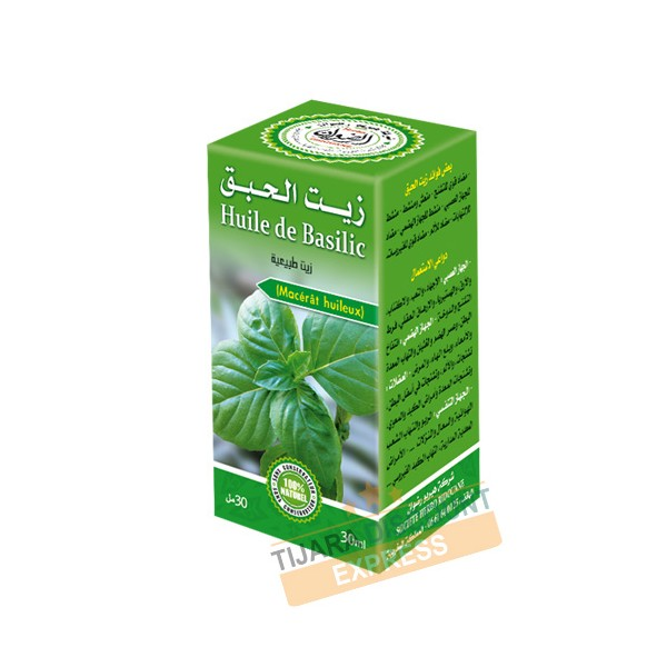 Huile de basilic (30 ml)