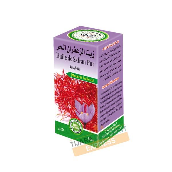 Huile de safran pur (30 ml)