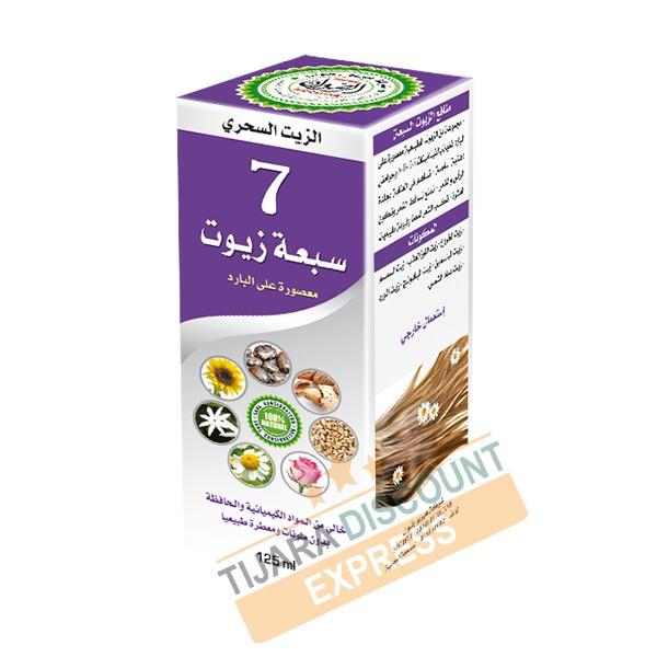 Les sept huiles (125 ml)