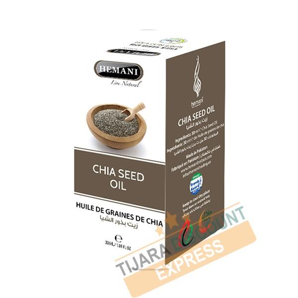 Huile de grains de chia (30 ml)
