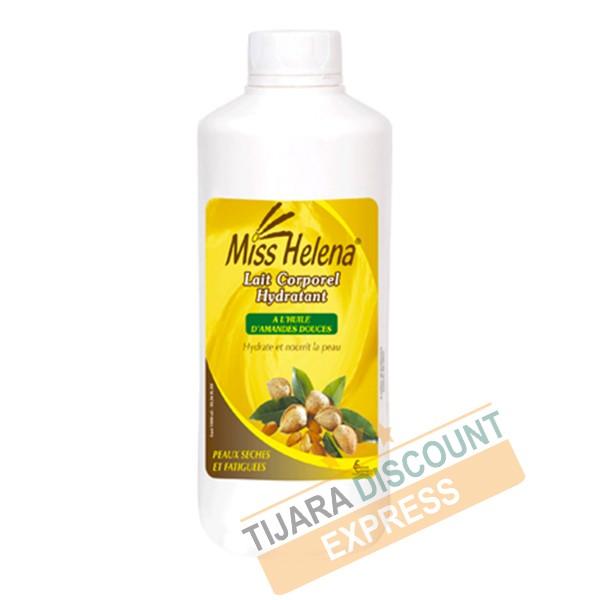 Lait corporel hydratant à l'huile d'amandes douces (1L)