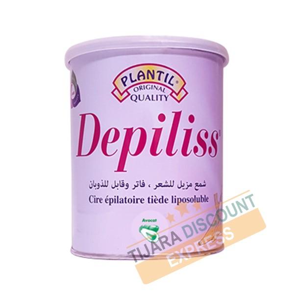 Depiliss cire épilatoire tiède liposoluble (800 ml) - Avocat