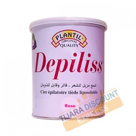 Depiliss fat-soluble lukewarm hair wax 800 ml - Rose