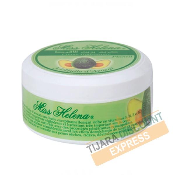 Crème hydratante à l'huile d'avocat (200 ml)