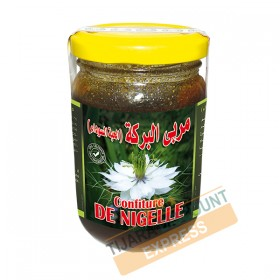 Jam of nigella black seeds