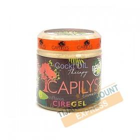 Capilys cire gel 6 huiles rares