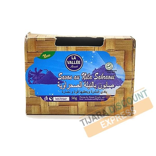Nil blue soap
