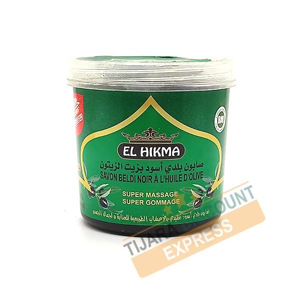 Beldi black soap with olive oil