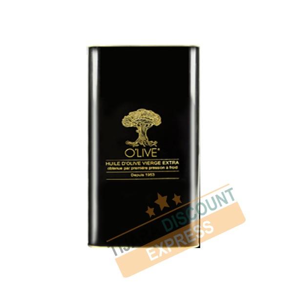 Extra virgin olive oil 5L metal packaging