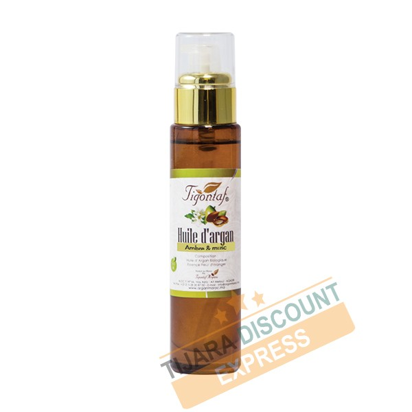 Argan oil with amber and musk (60 ml)