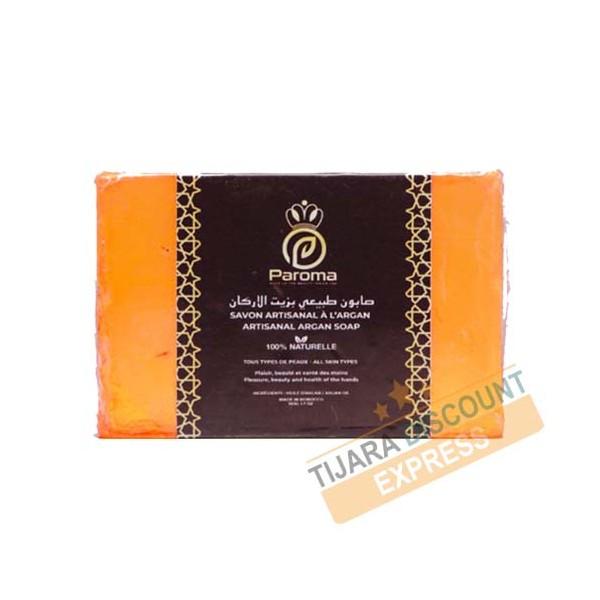 Handmade soap with organic argan oil - Paroma