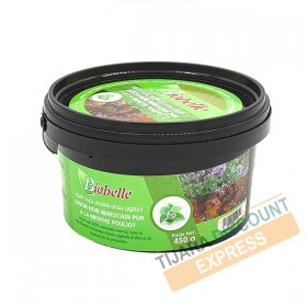 Pure Moroccan black soap with mint Pouliot