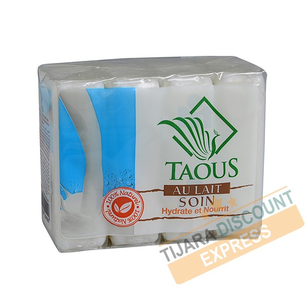 Soap taous with milk