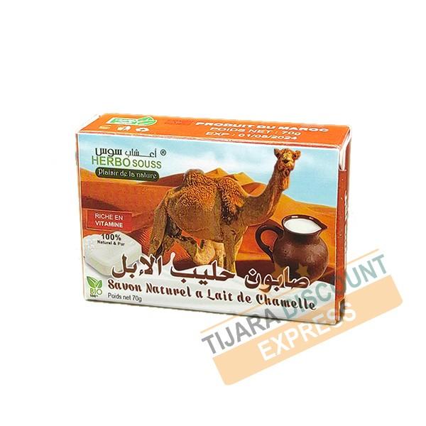 Natural camel milk soap