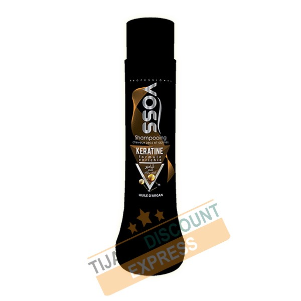 Keratin shampoo enriched with argan oil 750 ml - VOSS