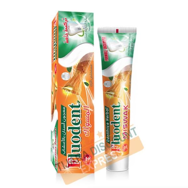 Dentifrice fluodent miswak