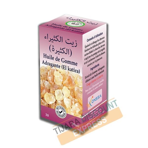 Huile de gomme adragante - el katira (30 ml)
