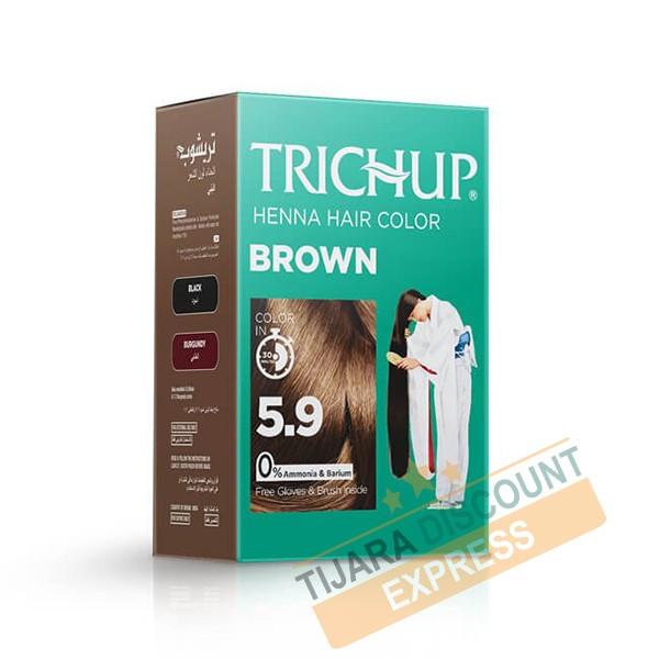 Henna hair color - Brown