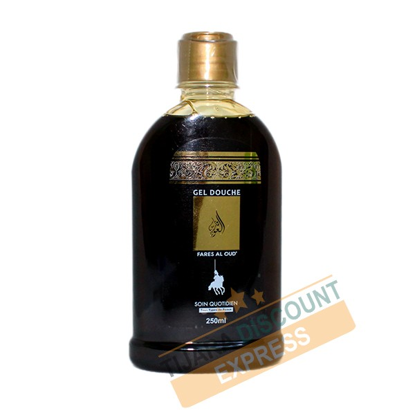 Shower gel with the scent of oud