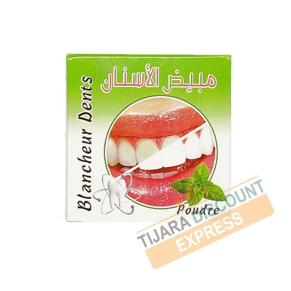 Blanchi dent - menthe