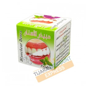 Whitened tooth - mint