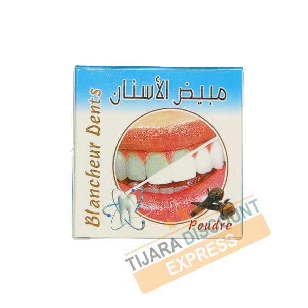Whitened tooth - clove