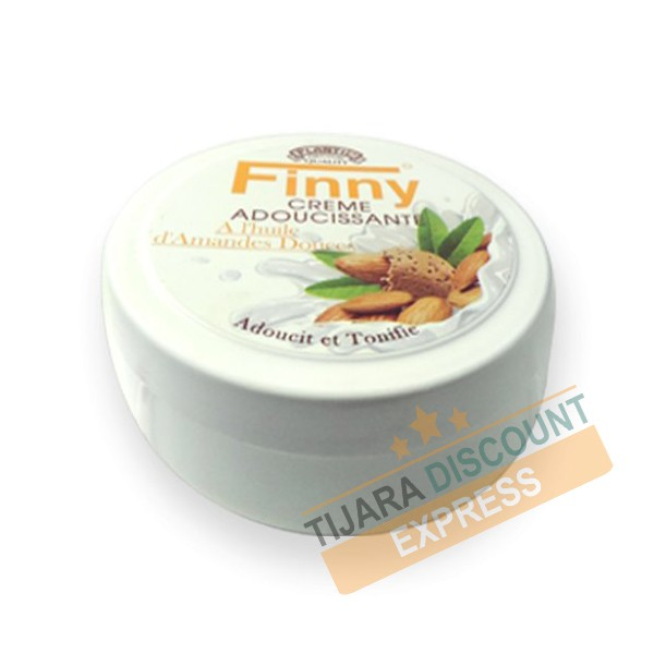 Softening cream with sweet almond oil - Finny