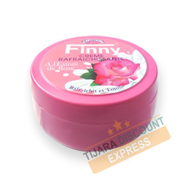 Refreshing cream with rose extract - Finny