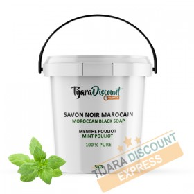Savon noir à l'huile essentielle de menthe pouliot (1kg)