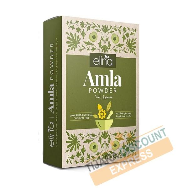 Amla en poudre pour cheveux - elina