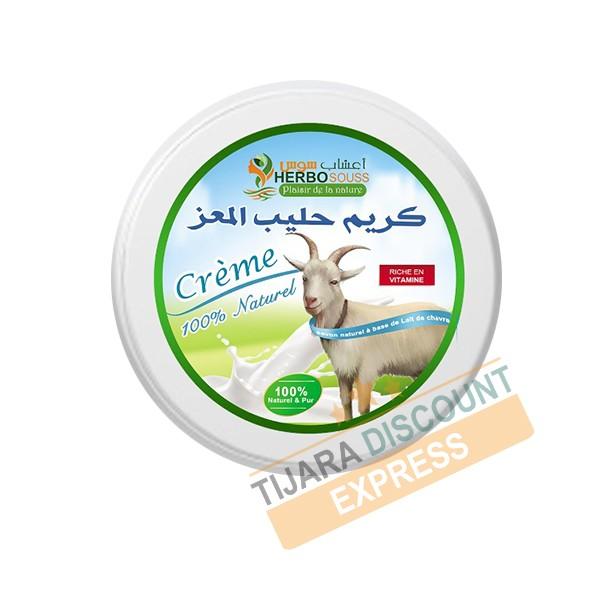 Natural goat milk cream