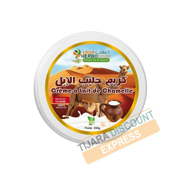 Natural camel milk cream