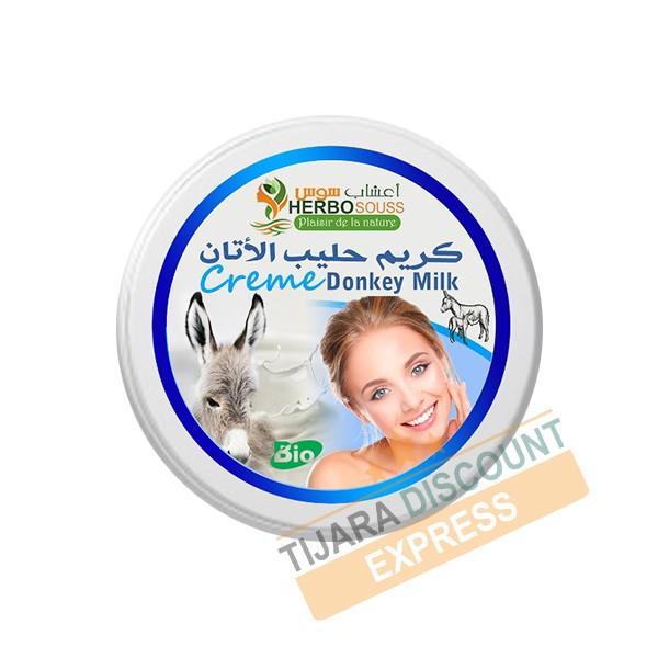 Natural donkey milk cream