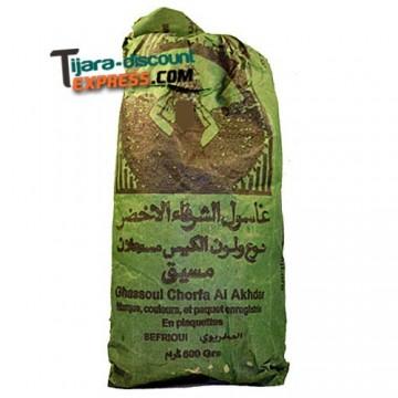Ghassoul vert en plaquettes