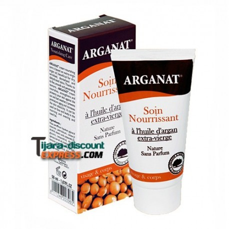 Cream for face & body with argan oil extra virgin