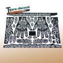 Sheet to henna tattoos