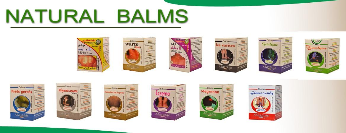 Natural balms