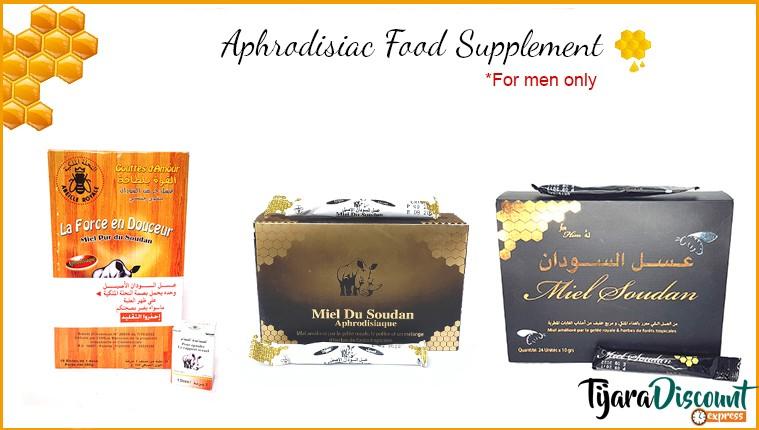 Aphrodisiac food supplement