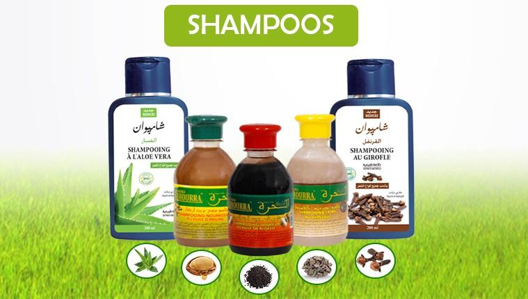 Oriental shampoos